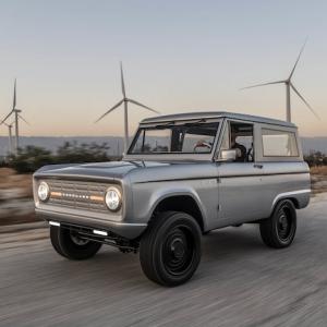 Zero Labs dévoile son propre Ford Bronco électrique