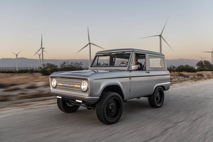 La société Zero Labs a dévoilé son propre Ford Bronco 2020 électrique vintage
