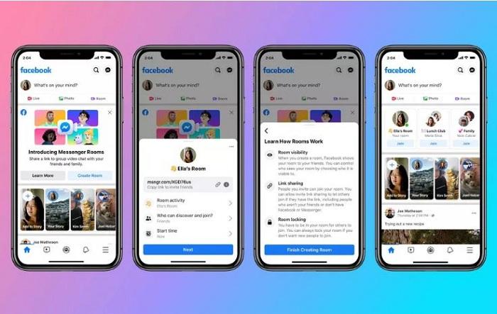 Facebook Rooms, le nouvel outil de vidéoconférence universel lancé par Mark Zuckerberg