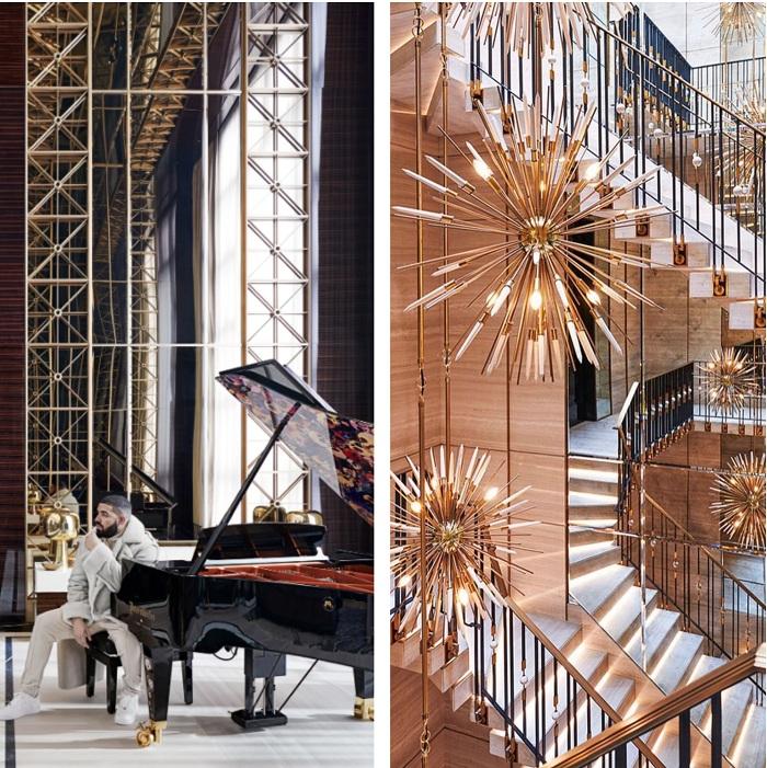 Drake maison de 4000m2 pour 100 millions de dollars signée par l'architecte Ferris Rafauli