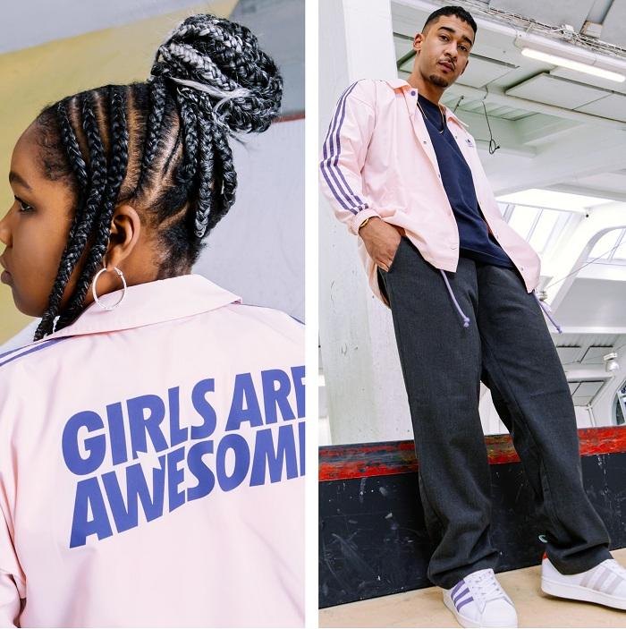 Nouvelle collection capsule Adidas x Girls Are Awesome 2020 inspirée de l'univers rétro de la Superstar