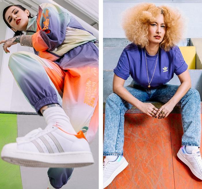 L'équipe danoise de Girls Are Awesome s'associe une nouvelle fois à Adidas Originals pour une nouvelle capsule unisexe
