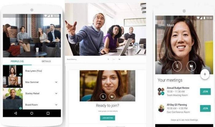 Le service de chat google hangouts meet est désormais accessible gratuitement à tous les utilisateurs de gmail