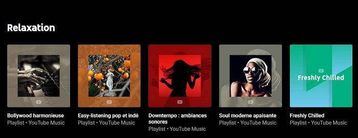 La nouvelle fonction Explore de Youtube Music propose des playlists triées par humeur