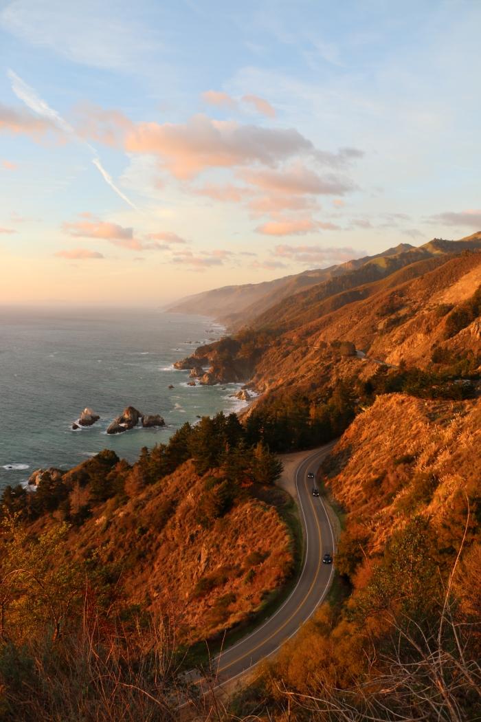 quel lieu visiter en Amérique, idée voyage à Big Sur en Californie