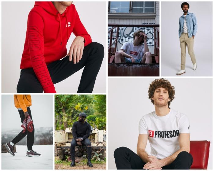 Mode éthique t-shirt bella ciao, casa de papel inspiration tenue, vêtements pour homme les plus portez pour le printemps-été 2020