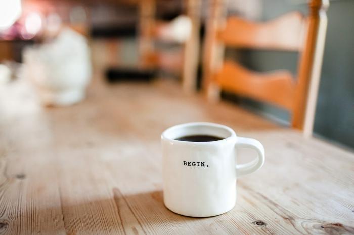 Un café pour bien commencer son journée, fond d écran beau, bohème déco fond d écran cocooning