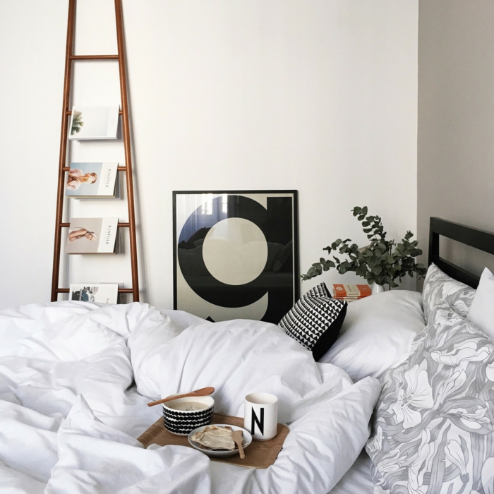 Cocooning chambre à coucher, créer de confort aménagement studio 20m2, décoration appartement étudiant
