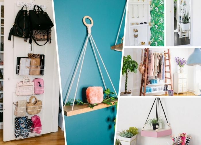 comment optimiser l'espace dans sa chambre avec meuble de rangement facile à faire soi-même, déco avec caisse rangement ikea