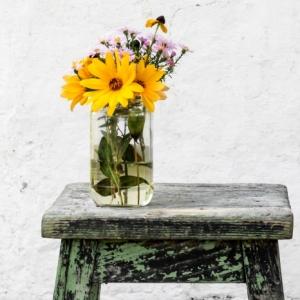 Idée créative de déco récup à faire soi-même pour rafraîchir son domicile au printemps
