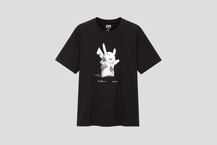 La collection de tee-shirts Daniel Arsham x Pokémon x Uniqlo UT arrie le 30 avril chez Uniqlo