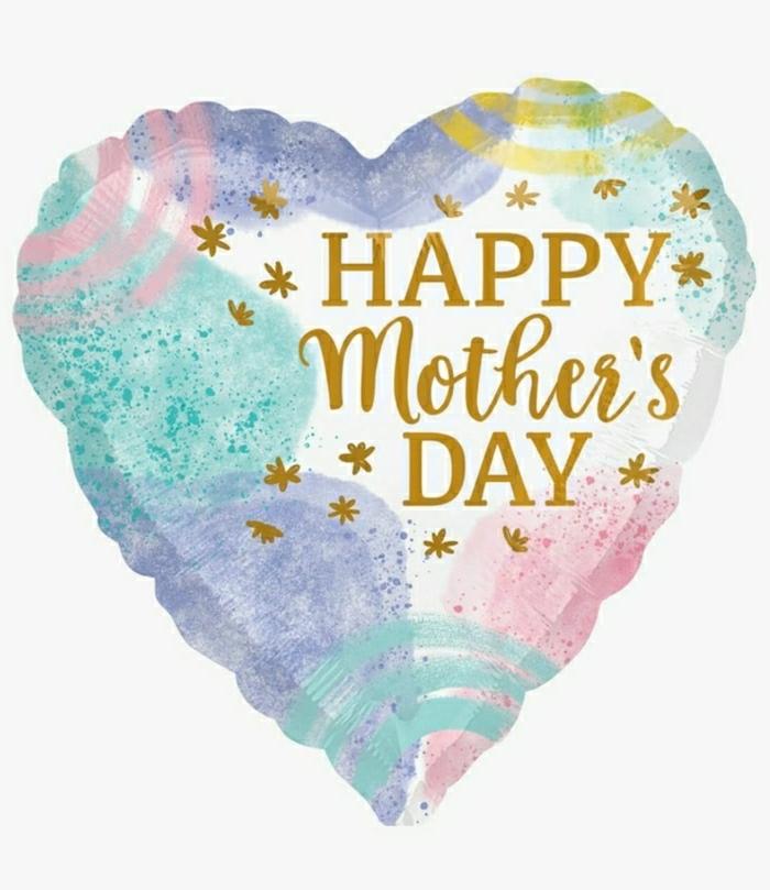 Coeur dessin pour maman cadeau fête des mères à fabriquer, images fête des mères original