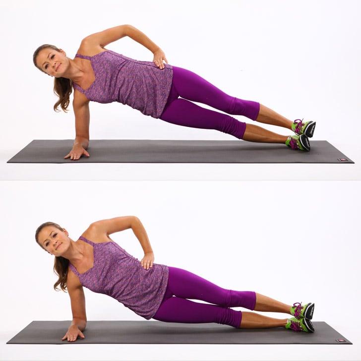 exemple perdre des poignées d amour, idee gainage lombaire exercice ceinture abdominale facile