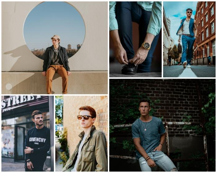 Vêtements pour homme tendance 2020, idée comment s'habiller, tenue swag