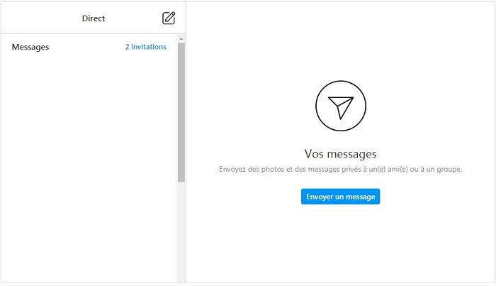La nouvel version web permet de voir comment lire un dm sur instagram par ordinateur