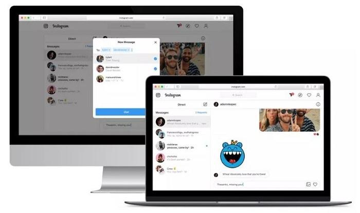 comment envoyer un dm sur instagram pc ? la version web enfin disponible pour tous