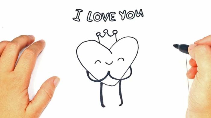 Coeur heureux a etre colore idée comment dessiner une fille, beau coloriage fête des mères