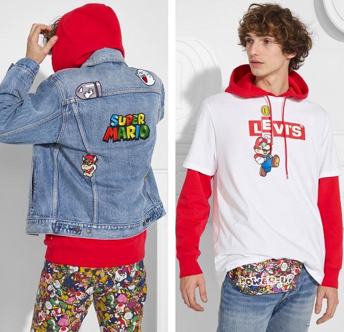 Levi's présente la collection série limitée Super Mario en partenariat avec Nintendo