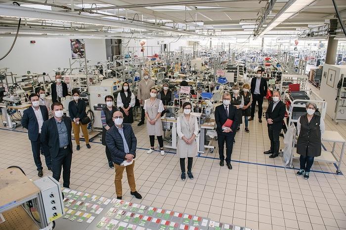 L'usine vendéenne de Louis Vuitton lance a production de masques en tissu à destination des ehpad