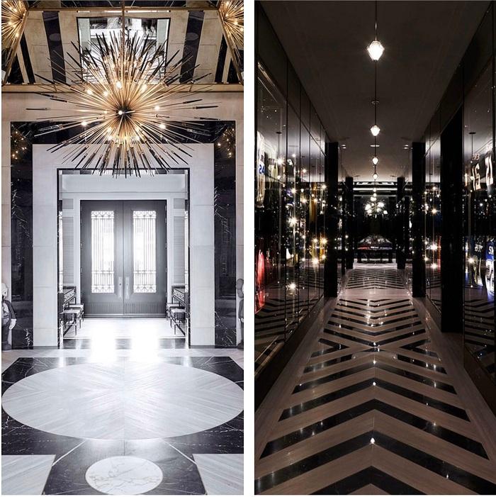 Ferris Rafauli Drake a ouvert les portes de sa maison Ambassade de 4000 mètres carrés avec terrain de basket NBA
