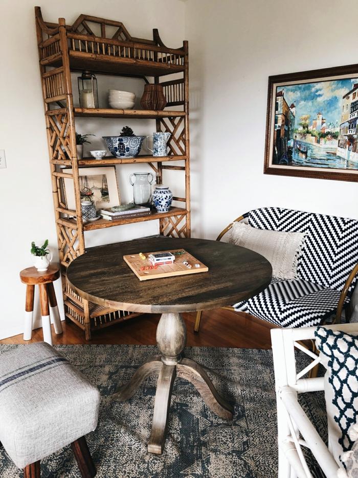 Cool idée vintage décoration salon idée déco appartement, aménagement studio 25m2 ikea style