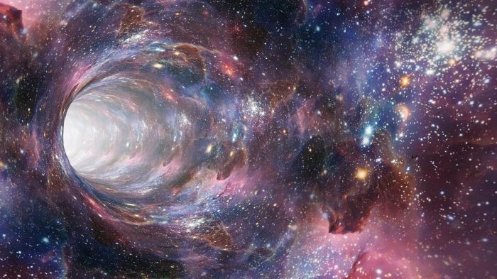fond d écran art pour personnaliser son ordinateur, image de phénomènes lumineux dans le cosmos pour wallpaper
