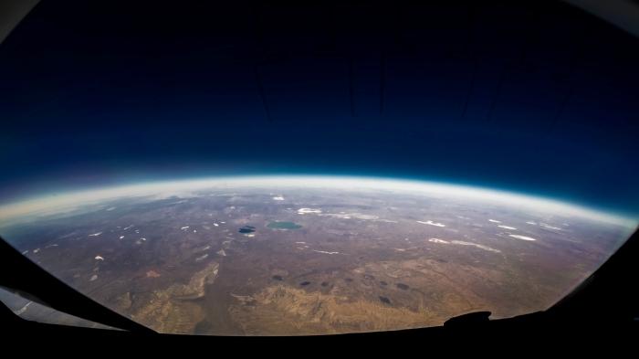 fond d écran gratuit sur le thème d'espace, image vue de la terre depuis l'espace pour wallpaper ordinateur original