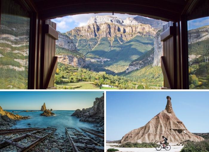 idées paysages naturels à voir en Espagne, visite du Parc National Cabo de Gata en Espagne
