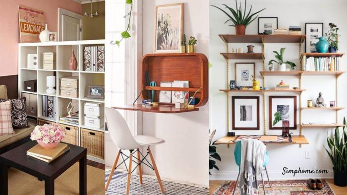 Cool idée amenagement studio 15m2 ikea, quelle est la plus belle décoration à faire valise bois
