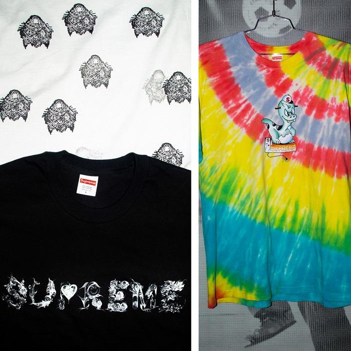 Supreme livre une collection de tee shirts tie dye pour le printemps 2020