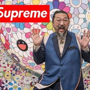 Un tee-shirt Supreme Charity Box x Takashi Murakami au profit d'Help USA