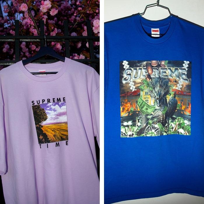 Supreme fête le printemps avec une nouvelle collection de 7 tee-shirts à l'inspiration années 90