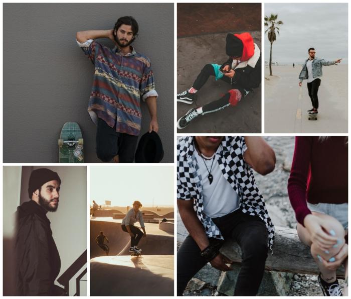 Comment avoir de la swag avec vêtements homme skater