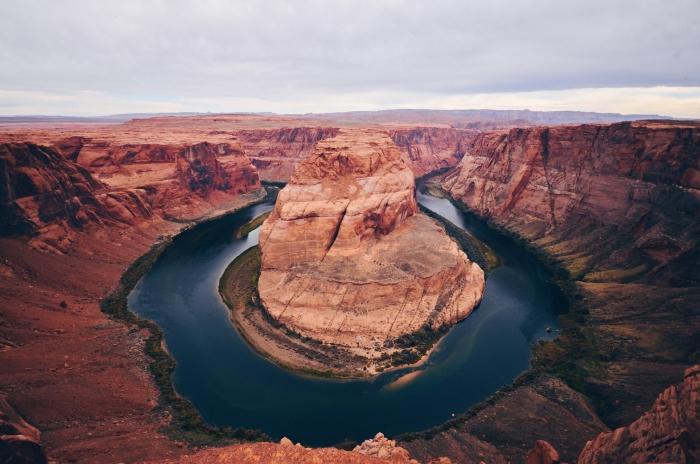 quels sont les plus beaux paysages à voir en Amérique, organiser un voyage à Horsehoe Bend, visiter l'Amérique