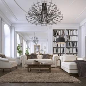 Créer un salon contemporain dans une maison ancienne