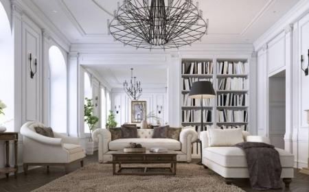 Creer Un Salon Contemporain Dans Une Maison Ancienne