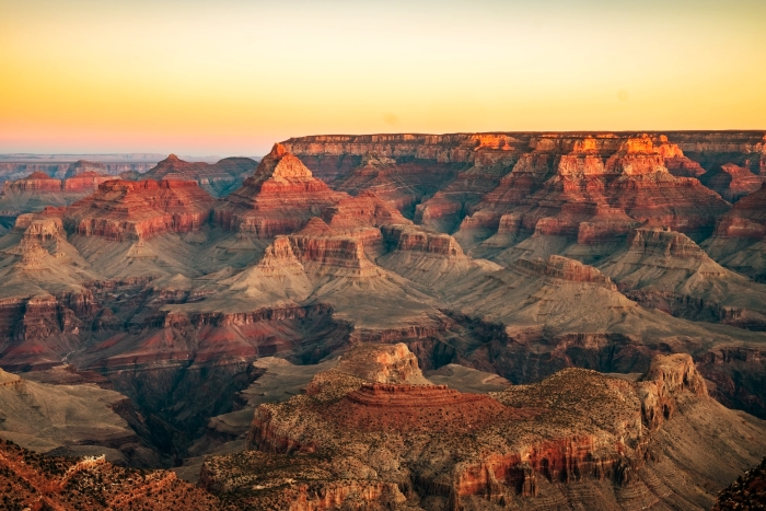 explorer les paysages naturels dans le monde, organiser une visite du Grand Canyon