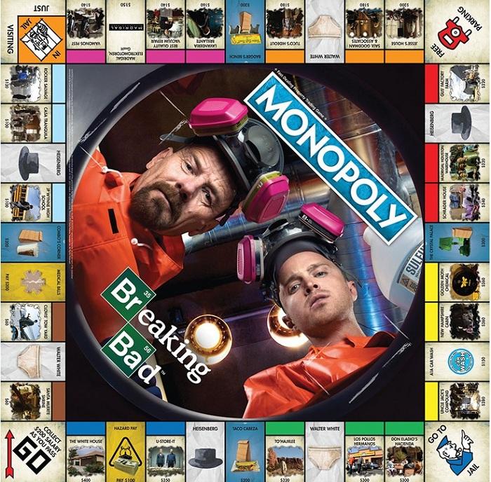 Construisez un empire à la Walter White avec la nouvelle édition de Monopoly Breaking Bad