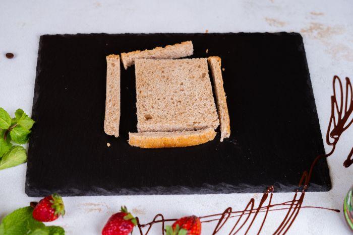 retirer la croute du pain de mie, idee recette comment faire du pain perdu maison pour petit dejeuner