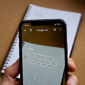 Google Lens permet de transférer un texte manuscrit sur son ordinateur