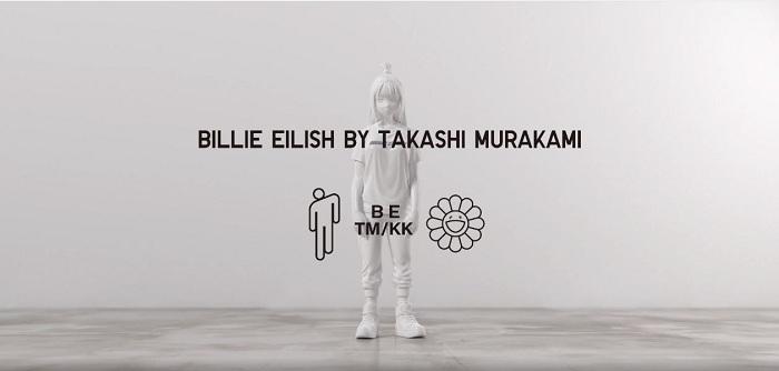 Découvrez les premières images de la collection Uniqlo x Billie Eilish by Takashi Murakami