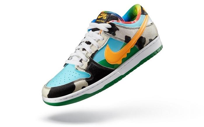 La nouvelle sneaker Ben & Jerry's x Nike SB Dunk Low Chunky Dunky arrive ce 26 mai sur le site SNKRS