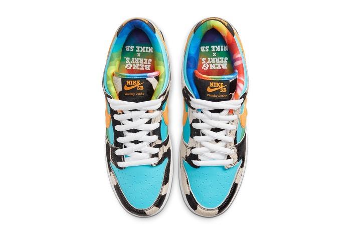 La Nike Dunk x Ben & Jerry's arrive le 23 mai en magasins et le 26 mai sur le site snkrs