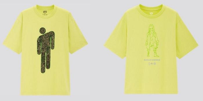 La série limitée de tee-shirts Uniqlo Billie Eilish enfin dévoilés avant leur sortie prévue le 25 mai