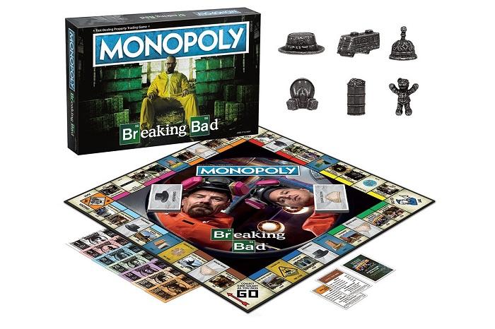 Le célèbre jeu Monopoly de Hasbro lance une édition spéciale sur le thème de la série Breaking Bad