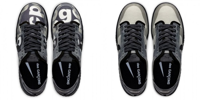 la nouvelle Nike COMME des GARÇONS Dunk low 2020 arrive finalement chez Dover Street Market ce 14 mai