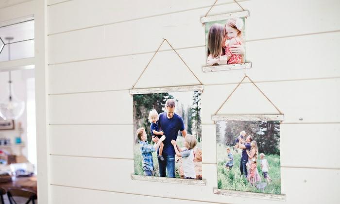 Mur avec cadre photo original, image cadre pele mele pour ses favourites photographies
