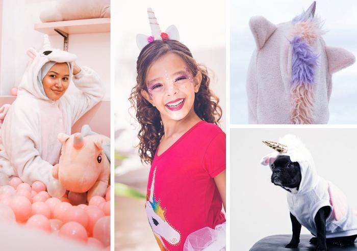 vêtements et costumes pour incarner licorne, quels vêtements pour se déguiser en licorne facilement