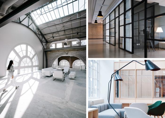 installation de verrière intérieure pour séparer les pièces dans son intérieur, choix de fenêtre originale