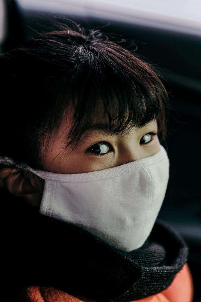 masque protection respiratoire pour petits à porter après le déconfinement, mesure barrière contre le COVID-19 pour les petits